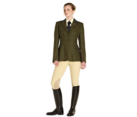 Caldene Silverdale Tweed Jacket Girls The Tack Shack